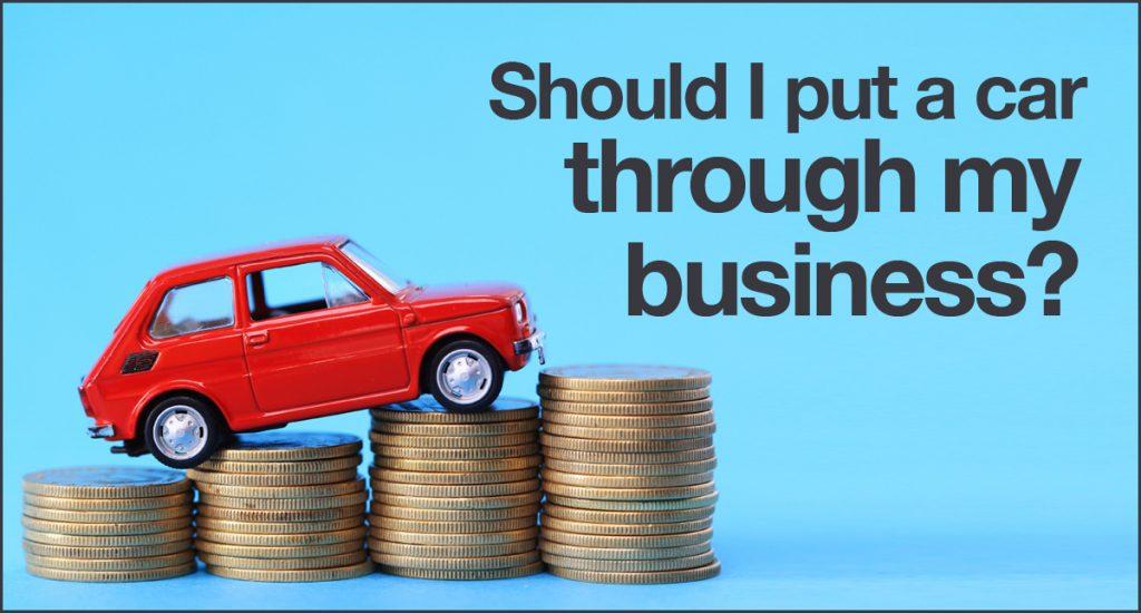 Should I put a car through my business? | Rivington Accounts