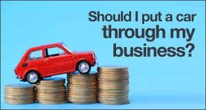 Should I put a car through my business? | Rivington Accounts