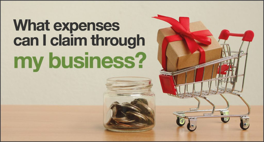 What expenses can I claim through my business? | Rivington Accounts