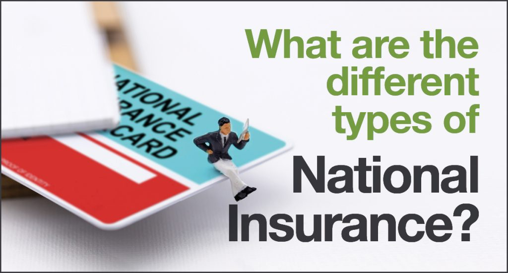 What are the different types of National Insurance?